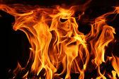 oheň, plamen