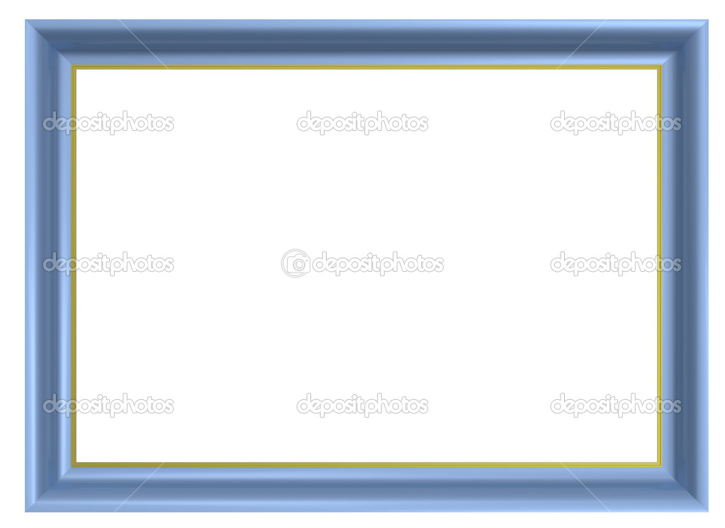 Light Blue Picture Frame Stock Photo 169 Ppart1 2381117