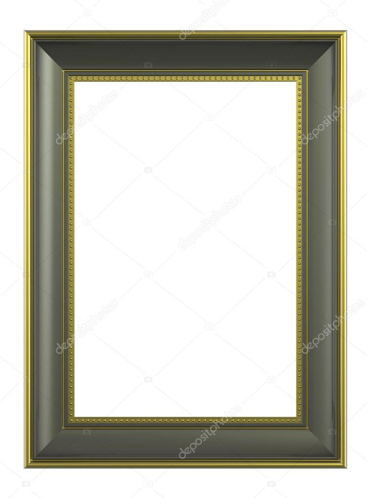 Olive-Gold Bilderrahmen — Stockfoto © ppart1 #2615334