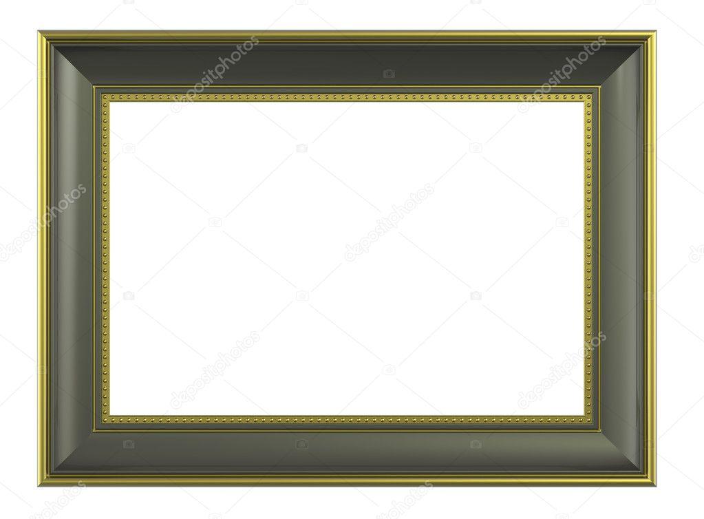Olive-Gold Bilderrahmen — Stockfoto © ppart1 #2615387
