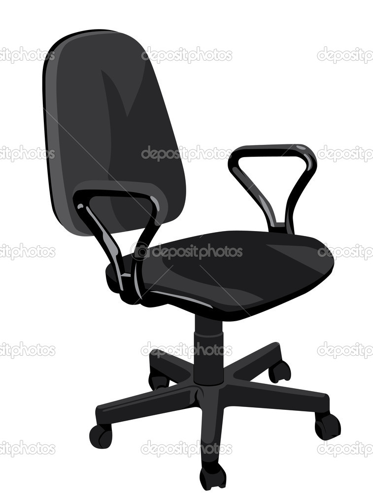 Office Armchair U2014 Stock Vector