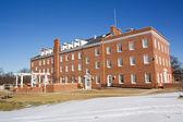 egyetemi épület egy egyetemi campus