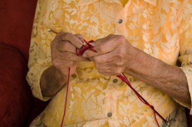 Knitting elder