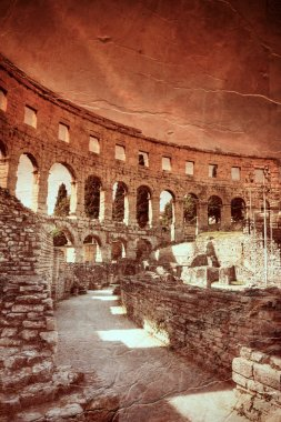 Ancient arena in Pula