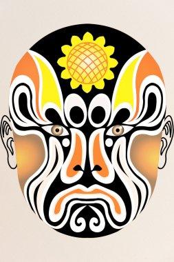 Chinese opera face