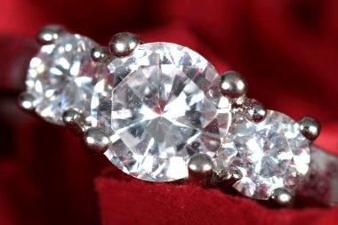 Engagement Ring taken closeup