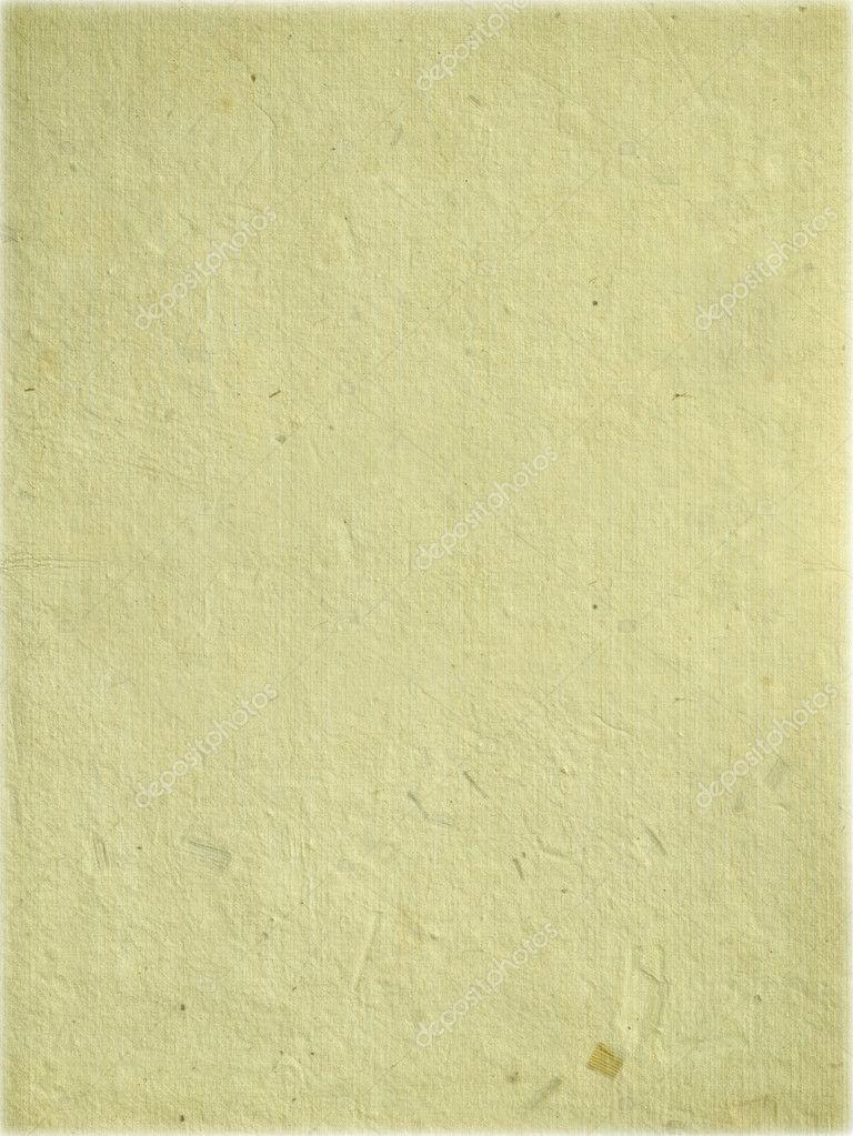 Cream handmade sheet of paper