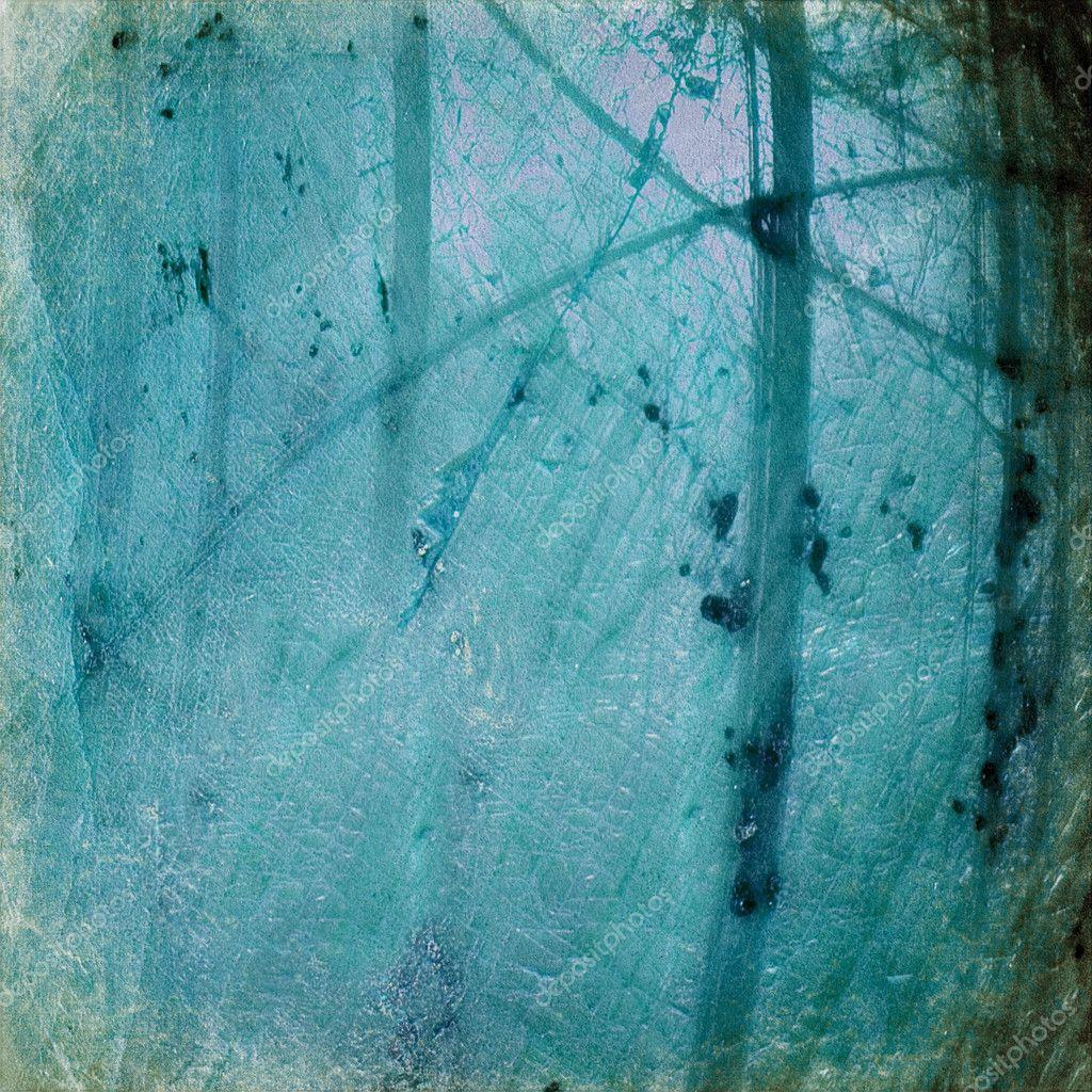 Grunge blue luminous background
