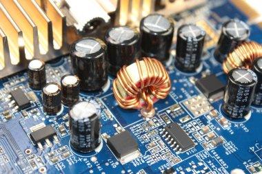Choke on circuit board