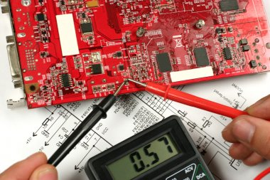 Circuit board and electronic meter