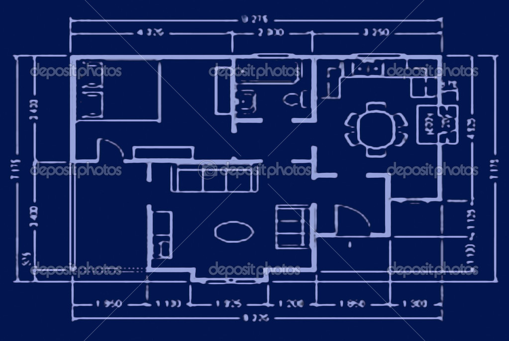 depositphotos_2045541 stock photo blueprint house plan blueprint house plan stock photo © skaljac 2045541,Blueprint House Plans