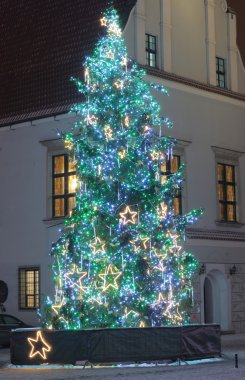 Christmas tree at the old town