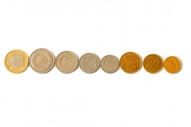 Coins in a row