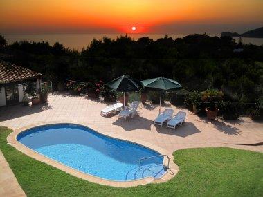 Villa Outdoor Swimming Pool