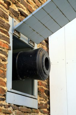 Cannon barrel, Batavia, Netherlands