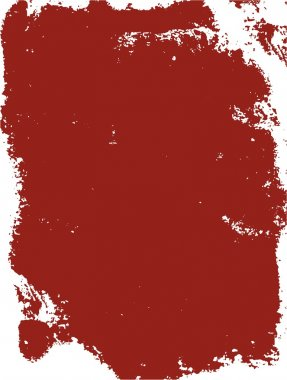 Grunge background red frame
