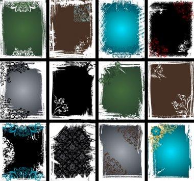 Grunge Frame Collection