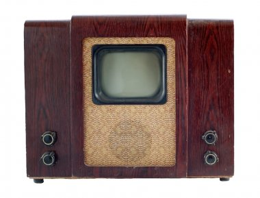 Old soviet tv set