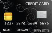 Fényképek fekete hitelkártya