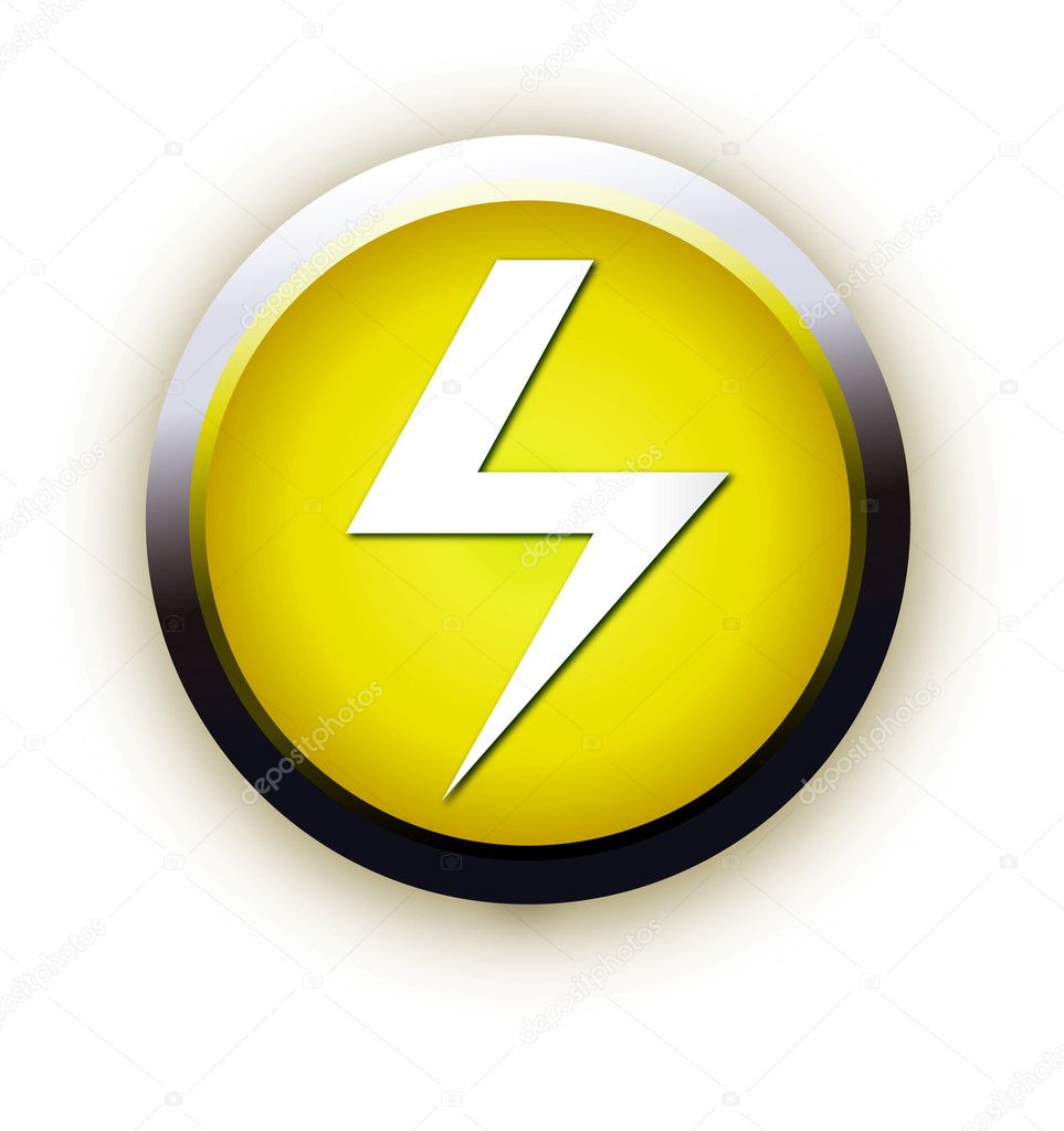 Button with high voltage symbol stock vector ericbojana 2400320 button with high voltage symbol stock vector buycottarizona