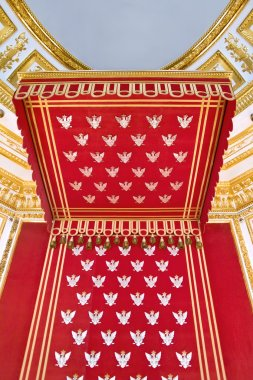 Throne of Polish king - canopy