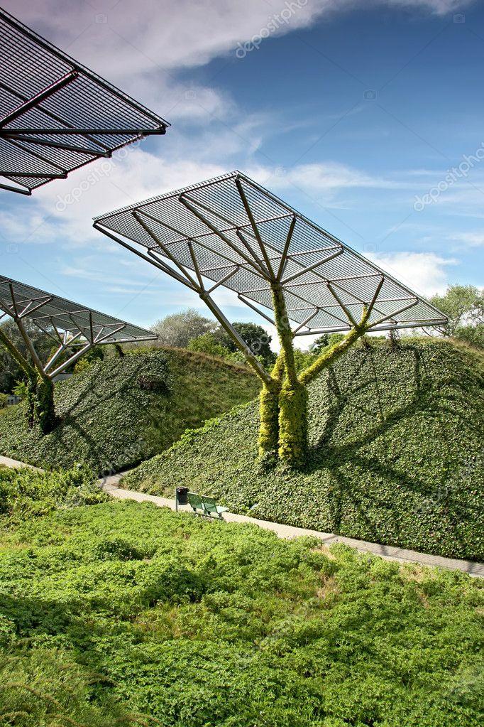 Ecological modern building