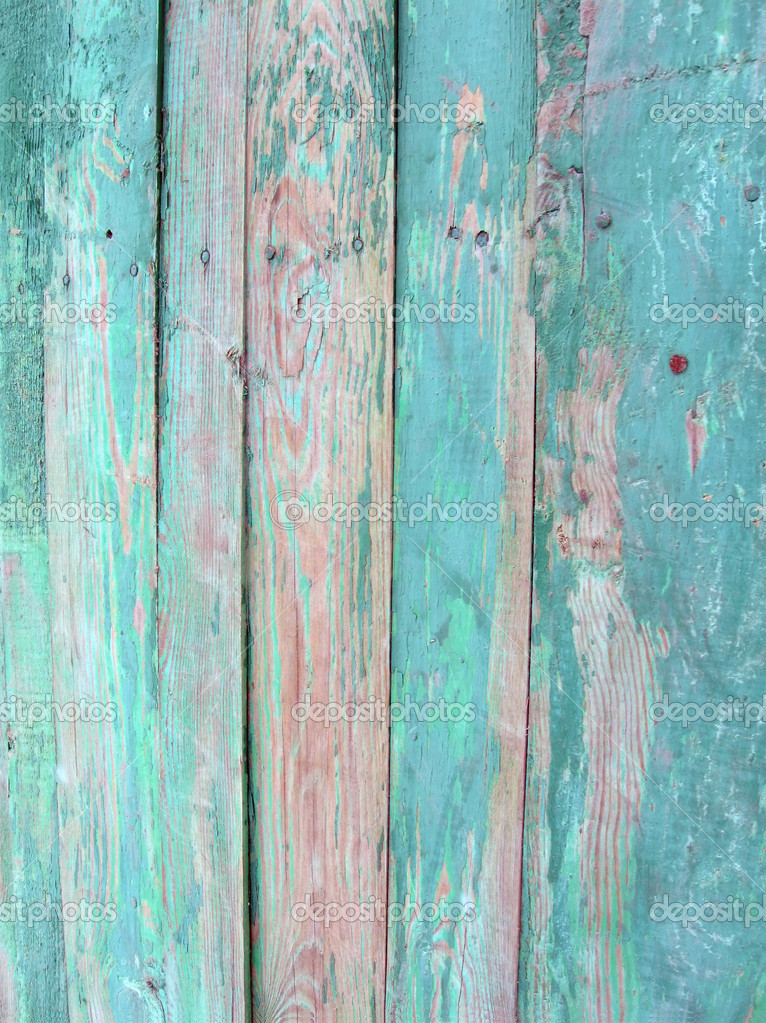 Vintage Green Wood Wall Stock Photo 169 Fmua09 1985026