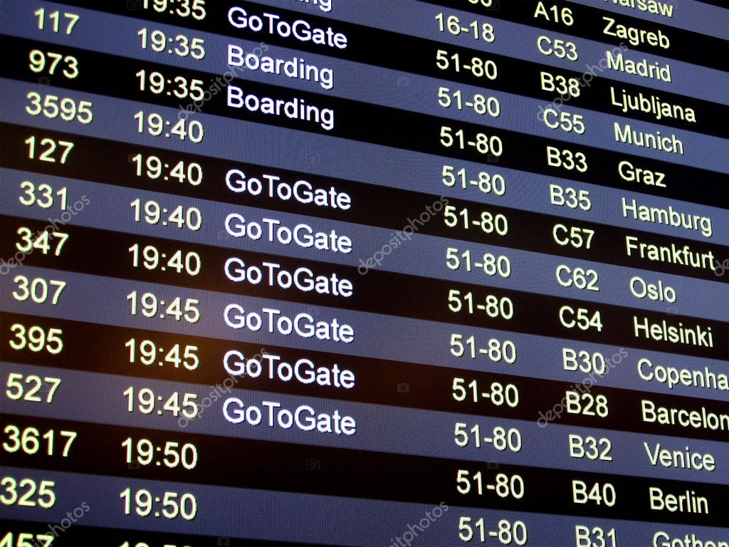 how to find gate number for flight online