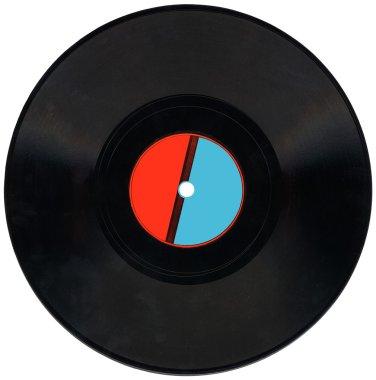 Vintage Vinyl 78rpm record isolated