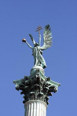 Symbolic figure of archangel Gabriel