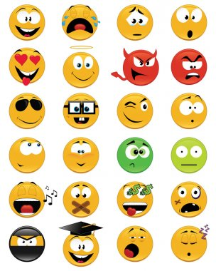 Smiley faces