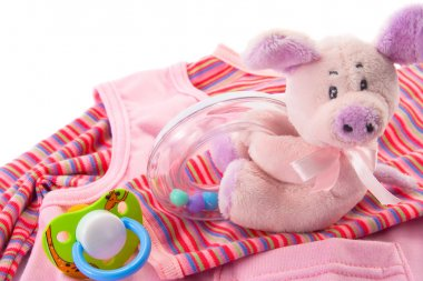 Baby's clothes and toys