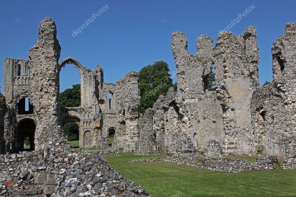 Castle Acre Priory In Norfolk Stock Photo C Ianlangley 1946458
