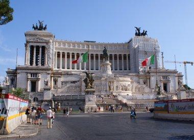 Building of Vittorio Emanuele Monument