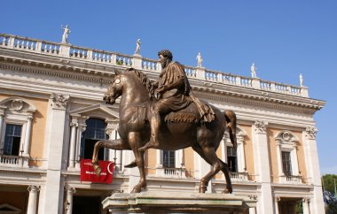 Marcus Aurelius on Capitol Hill in Rome