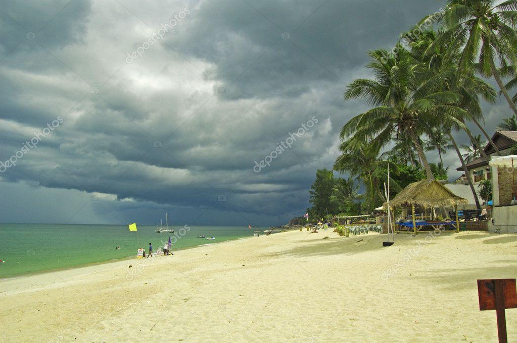 Koh Samui before rain