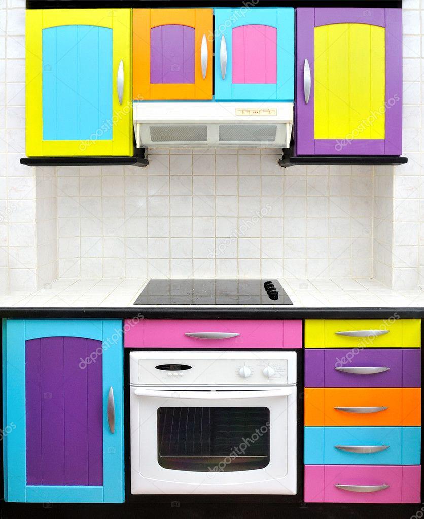 küche entwerfen farbig — Stockfoto © perig76 #1983374