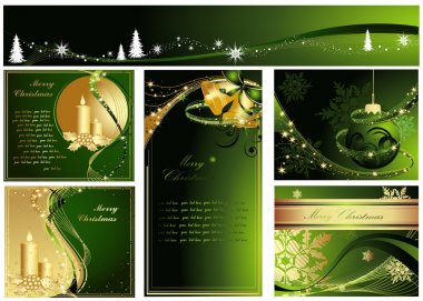 Collection of Merry Christmas background
