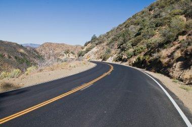 Los Padres road