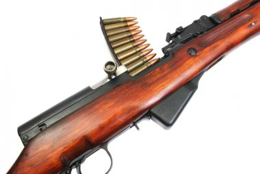 Rapid-firing rifle Simonov