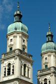 Fotografie Kirchturm-Oberteile