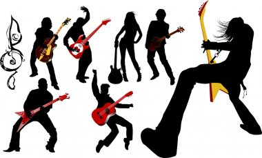 Musicians guitarist