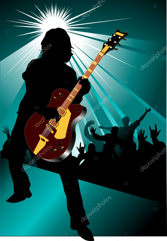 Rock and roll concert
