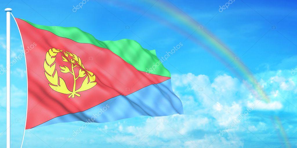 Yantec Flaggenpin Eritrea Pin Flagge
