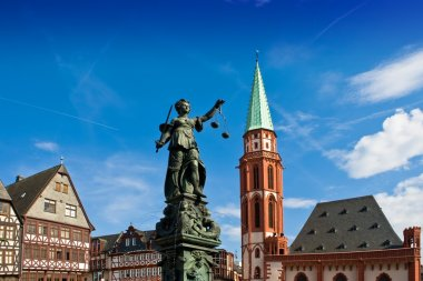 Statue of Lady Justice in Frankfurt