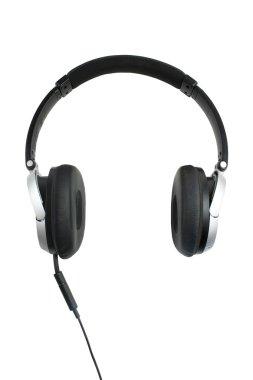 Headphones oon white
