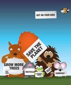 Fotografia salvare la fauna del Regno Unito di ambiente