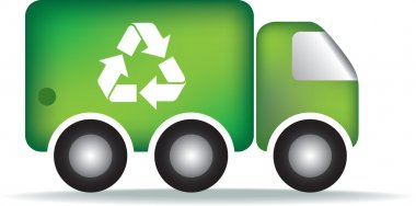 Recycle garbage truck