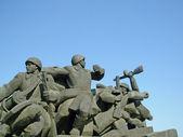 Fotografie militärisches denkmal