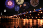 Photo Spectacular Fireworks at Han River